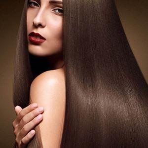 Здоровые волосы выглядят шелковистыми фото