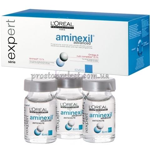 Loreal professionnel aminexil advanced против выпадения волос фото